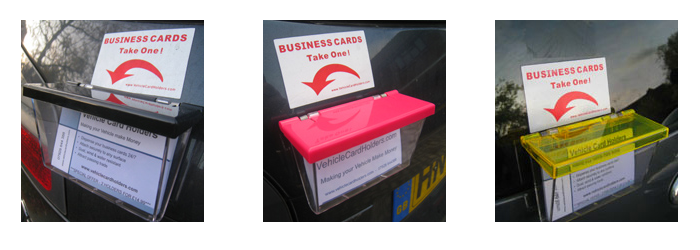 Vehicle Card Holders